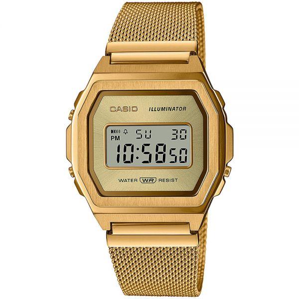 Dámske hodinky_Casio A1000MG-9EF_Dom hodín MAX